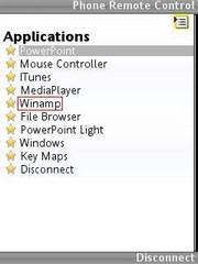Winamp control