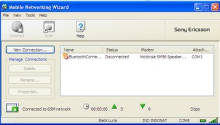Mobile Networking Wizard